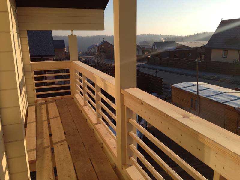Галерея - строительство готовых домов из клееного бруса, ном.